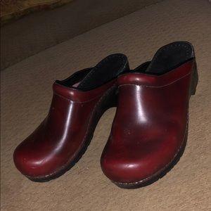 Sanita Clog shoe sandals heels platform
